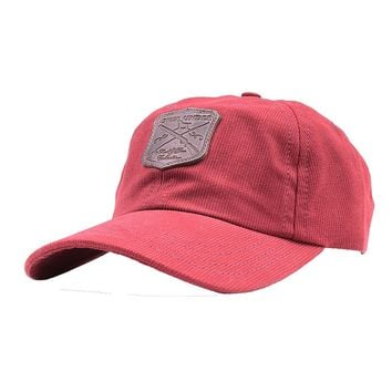 Rod & Gun Collection Corduroy Hat in Red Georgia Clay by Over Under Clothing