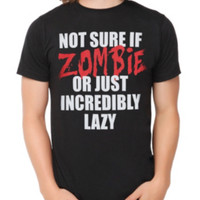 Zombie Or Lazy T-Shirt