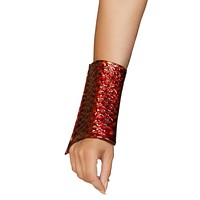 Sexy Undisputed Dragon Slayer Metallic Wrist Cuffs