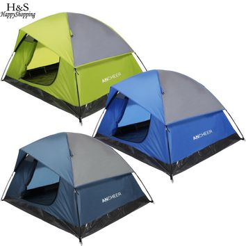 2 - 3 Person Classic Dome Tent with Carrying Bag (3 colors available)