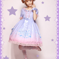 Chess Story -Dreamy Starry Night- Lolita OP Dress