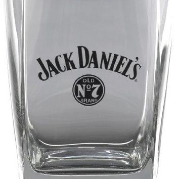 Jack Daniels Licensed Barware Bug Swing Logo Double Old Fashioned Glass