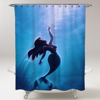 "New The Little Mermaid Shower Curtain 60"" x 72"""