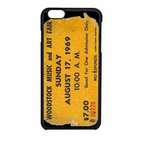 Woodstock Ticket Wn iPhone 6 Case