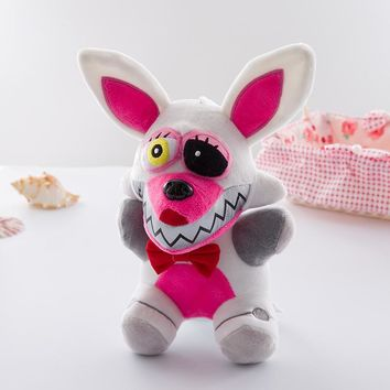 At  4  Plush Toys 18cm Freddy Bear Foxy Chica Bonnie Plush Stuffed Toys Doll for Kids Gifts New Arrival
