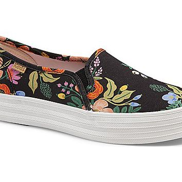 KEDS X RIFLE PAPER CO. TRIPLE DECKER LIVELY FLORAL