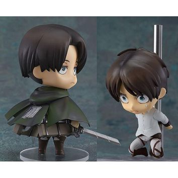 Cool Attack on Titan  Clay No. 390 Chief 375 Allen 10CM Action Figure Decoration Model Kids Toy Gift AT_90_11