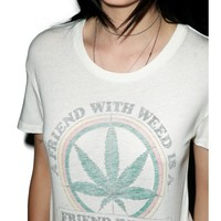 Friends With Weed Tee | Dolls Kill