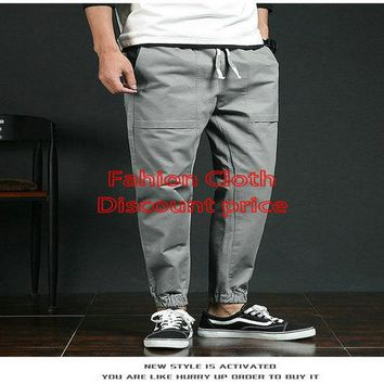 Adidas Trousers Mens M-3XL 2018 Spring Clothes Grey
