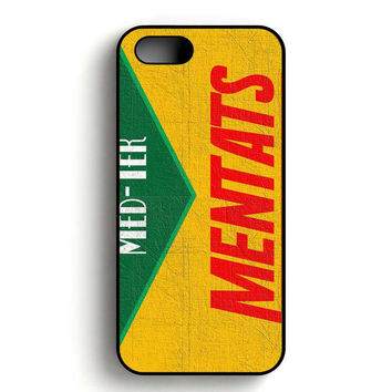 Fallout Mentats Prop Label iPhone 5, iPhone 5s and iPhone 5S Gold case