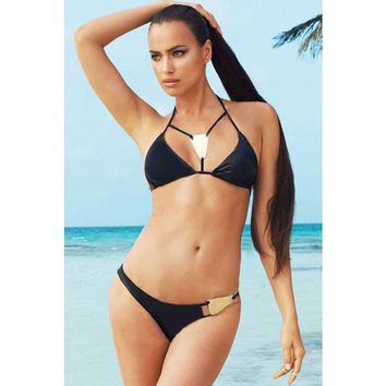Summer Sexy Hot New Arrival Swimsuit Stylish Beach Party Swimwear Bottom & Top Bikini [4914902852]