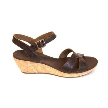Timberland Earthkeepers Whittier - Brown Wedge Sandal