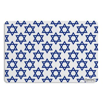 Stars of David Jewish Placemat All Over Print by TooLoud