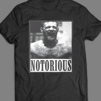 UFC /MMA CONOR MCGREGOR THE NOTORIOUS T-SHIRT