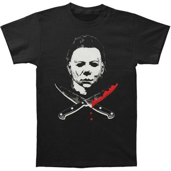 Halloween Men's  Michael Myers T-shirt Black