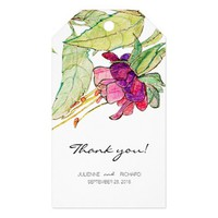 Bohemian Garden | Floral Wedding Favour Gift Tags