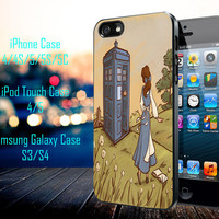 Belle Tardis Samsung Galaxy S3/ S4 case, iPhone 4/4S / 5/ 5s/ 5c case, iPod Touch 4 / 5 case
