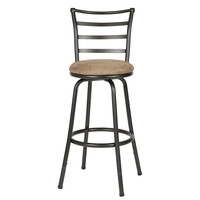 Swivel Bar Stool Patio Unique Rustic Breakfast Vintage Stool