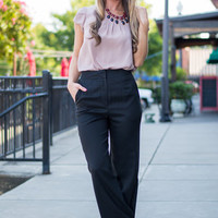 Crush On Comfy Pants, Black