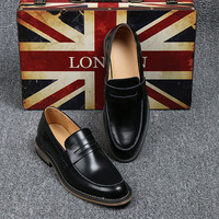 British Men's Selected Homme Smart Leather Loafers