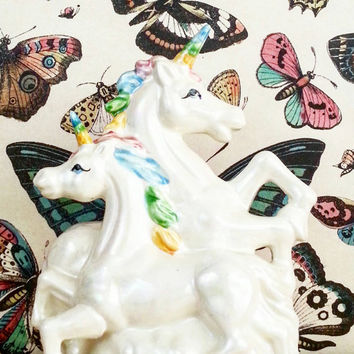 Unicorn- Room Decor- Fantasy Decor- Home Decor- Boho Decor- Whimsical Decor- Unicorn figurine- Rainbow Unicorn- Bohemian- Perfect Gift- Love