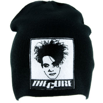 The Cure Robert Smith Beanie Knit Cap Gothic Clothing Disintegration