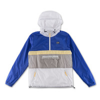 Athletic Starter Windbreaker in White – Pink+Dolphin
