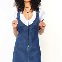 Motel Litton Pinafore Dress