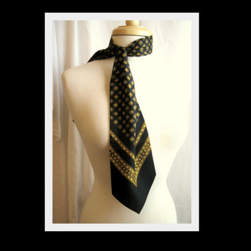 Christian Dior Silk Scarf   Neck Bowtie by darlingtoniavintage