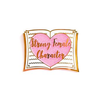 Strong Female Character Enamel Pin