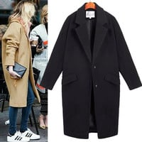 Thicken Winter Coat Korean Slim Jacket [9344407684]