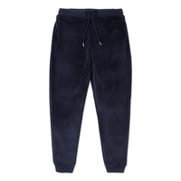Bonded Velour Sweatpant in Navy – Pink+Dolphin