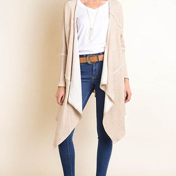 Kourtney Knit Cardigan - Oatmeal