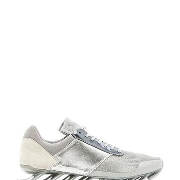 adidas by Rick Owens Springblade Low in Gray