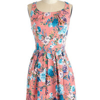 ModCloth Mid-length Sleeveless A-line Pep Cali Dress