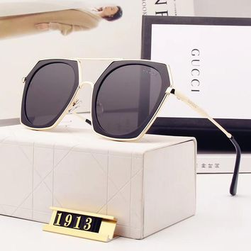 Gucci Woman Fashion Summer Sun Shades Eyeglasses Glasses Sunglasses-69