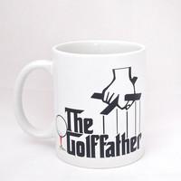 Father's Day Coffee Mug - Golf Lover Present - Birthday Present - Gift for Men Who Love Golf - Present for Grandpa - Christmas Gift for Men