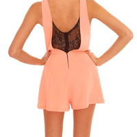 Amazingly Sweet Romper - Coral