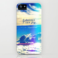 I believe I can fly - for iphone iPhone & iPod Case by Simone Morana Cyla