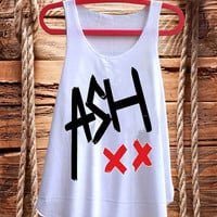 Ashton Irwin 5SOS One Direction best design for Tank top mens and Tank top Girls fashion