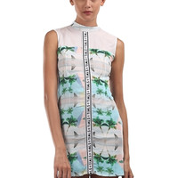DAZED DRESS PYRAMID PRINT | THIS IS A LOVE SONG