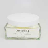 Gypsy & Cult Monoi De Tahiti Luxe Body Cream Moisturizer 6 Oz. For Dewy Skin