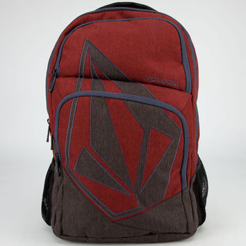 Volcom Deluxe Backpack Red/Grey/Navy One Size For Men 23886634901