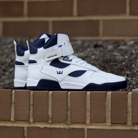 Supra - Bleeker - White / Navy