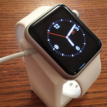 Apple Watch Stand! Allows for charging your product easily while displaying your beautiful timepiece