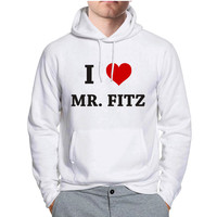 I Heart Mr. Fitz Pretty Little Liars Hoodie -tr3 Hoodies for Man and Woman