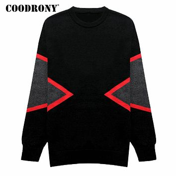 Sweater Men Pull Home Knitted Cashmere Men Sweaters For Thick Warm Merino Wool Pullover Men