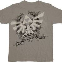 Nintendo Legend of Zelda Distressed Logo Gray T-shirt