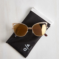 Pinup Lana Sunglasses by Quay from ModCloth