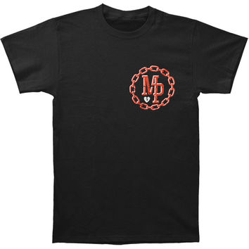 Mayday Parade Men's  Chain Gang T-shirt Black Rockabilia